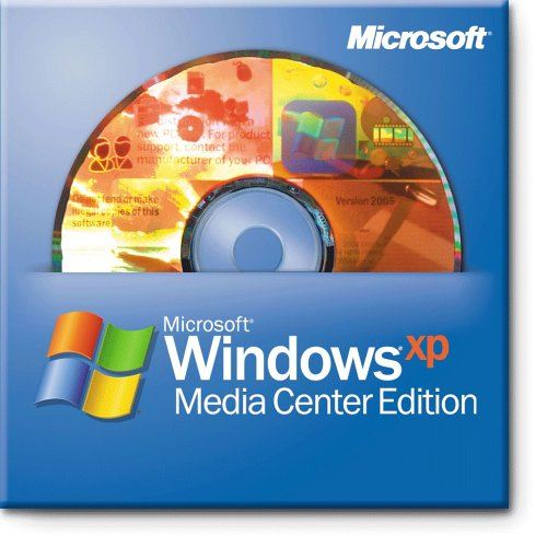 Microsoft OEM Windows XP Media Centre - 2005 SGLE SP2B (PC CD)