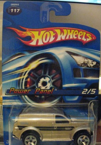 Hot Wheels 2005 Power Panel Twenty + 2/5 GOLD #117 - 1