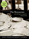 img - for The Restaurant: From Concept to Operation, Third Edition and NRAEF Workbook Package book / textbook / text book