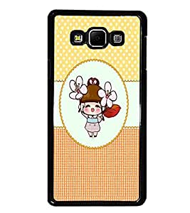 PrintDhaba Cartoon D-4467 Back Case Cover for SAMSUNG GALAXY E7 (Multi-Coloured)