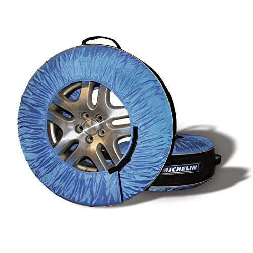 Michelin Tire Bags and Tire Protector, Blue and Black, 4 Pack (Tire Stack Covers compare prices)