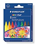 Staedtler 229 NC8 Noris Club Jumbo Wax Crayon Pack of 8