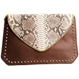 Anouk Girl's 934 Grandeur Clutch Cross Body Bag