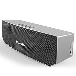 Bluedio BS-3 Camel Series Bluetooth ワイヤレススピーカー 3Dステレオサウンド 3マグネットドライバー シルバー