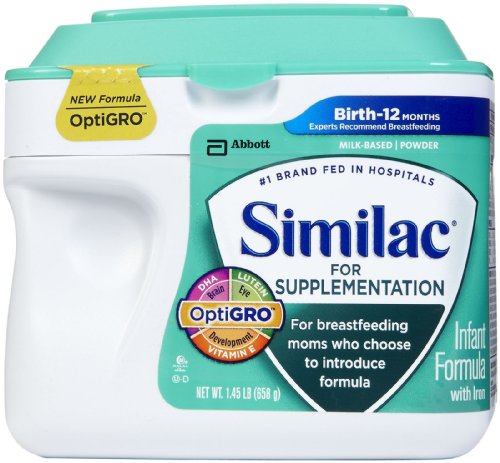 Similac Supplementation Powder, 23.2 Ounce - 1