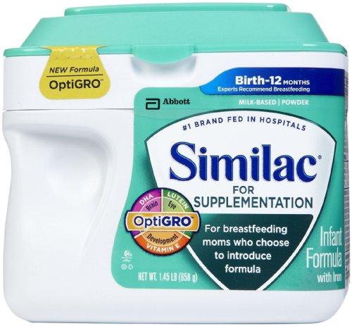 Similac Supplementation Powder, 23.2 Ounce - 1