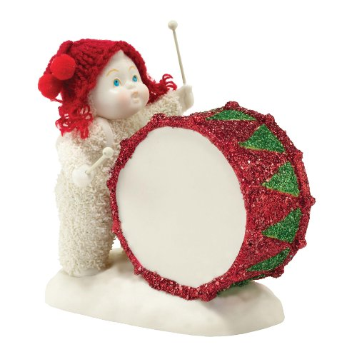 Snowbabies Classics You'Ve Got The Beat Baby Figurine, 3.75-Inch