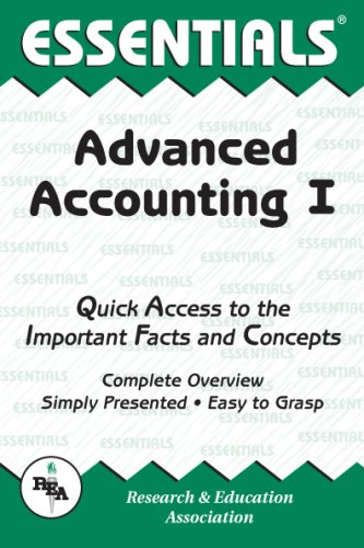 Advanced Accounting I (Essentials) (v. 1)