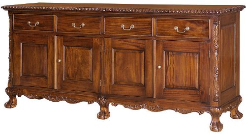 Cheap Chippendale Four Door Buffet (CBF4D)
