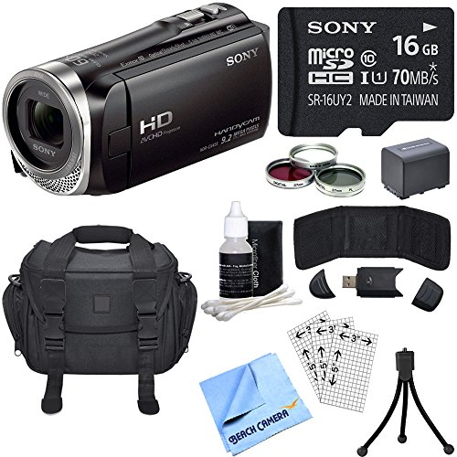 sony-hdr-cx455-b-full-hd-handycam-camcorder-bundle-includes-hdr-cx455-b-handycam-deluxe-filter-kit-b