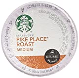 Starbucks Pike Place Torrefaction Roast, K-Cup for Keurig Brewers, 54 Count