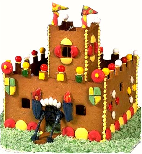 Buy Gingerbread Castle Pattern