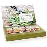 Tea Forte Single Steeps Organic White Tea Loose Leaf Tea Sampler, 15 Single Serve Packets, Fresh Fruit and Herb Flavors