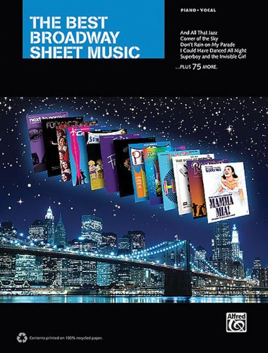 The Best Broadway Sheet Music For Piano Vocal (Sheet Music Broadway compare prices)