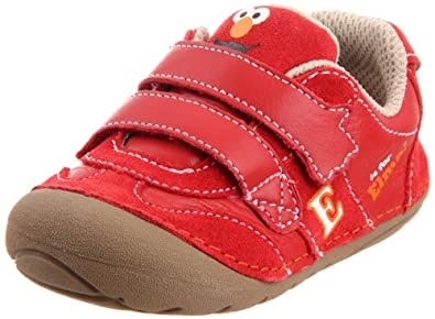Stride Rite SRT SM Elmo First Walker (Infant/Toddler),Elmo Red,3 M US Infant