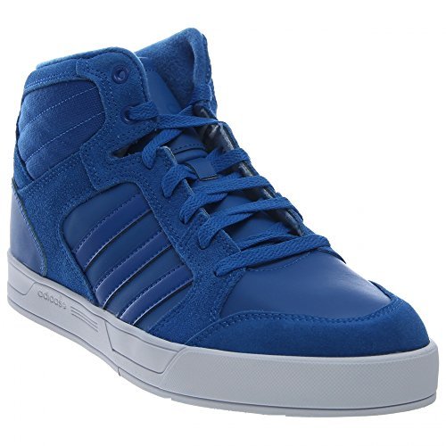 Adidas Men's Raleigh Mid Fashion Sneakers (11.5 D(M) US, Blue/Blue/Flash White)