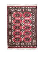 Navaei & Co. Alfombra Kashmir Rojo/Multicolor 141 x 95 cm