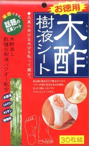 コジット 木酢樹液シート お徳用 30枚