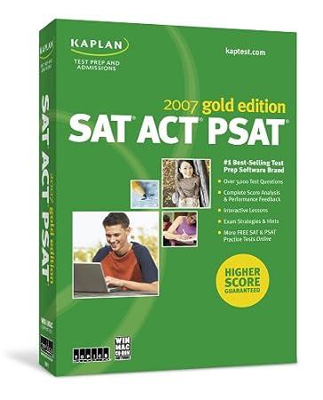 Kaplan SAT/ACT/PSAT Gold 2007 Win/Mac