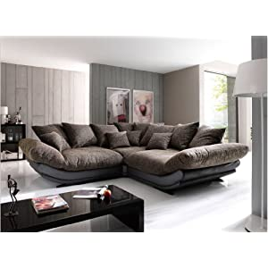 kaufen big sofa rose mega sofa von new look sofas test. Black Bedroom Furniture Sets. Home Design Ideas