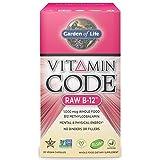 Garden of Life Vitamin Code Raw Vitamin B12 1000 mcg - Vegan Whole Food Supplement, 30 Capsules
