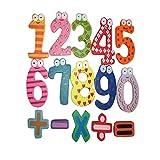 Malloom® magnético imán de frigorífico números de madera Matemáticas Set digital bebé niños Juguetes educativos