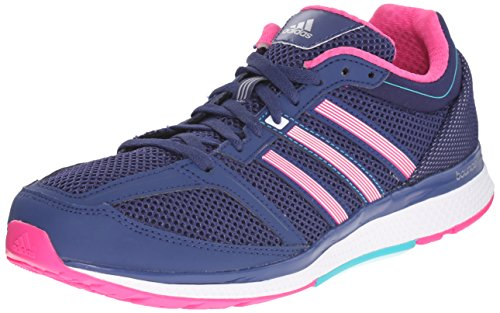 Adidas Performance Women's Mana RC Bounce Running Shoe,Raw Purple/Shock Pink/Shock Green,8 M US