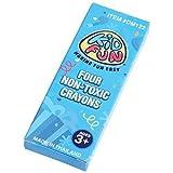 4-Pack Kid Fun Crayons - 72 packs