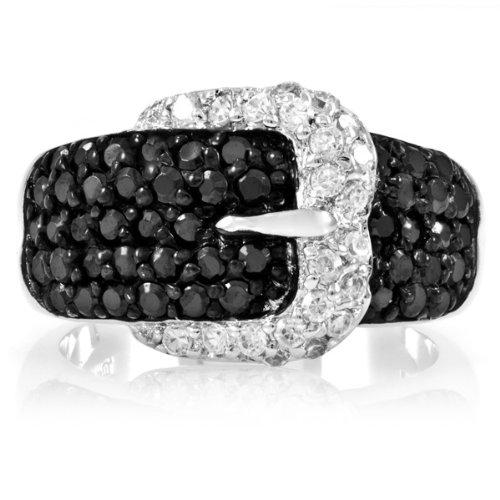 irene-es-negro-hebilla-anillo-con-circonitas