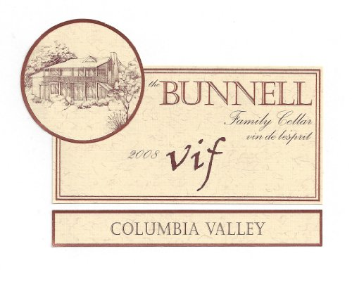 "2008 The Bunnell Family Cellar Columbia Valley ""Vif"" Blend-Red 750 Ml"