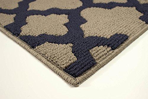 Jean Pierre Alessandra Textured Decorative Accent Runner, 24 x 60