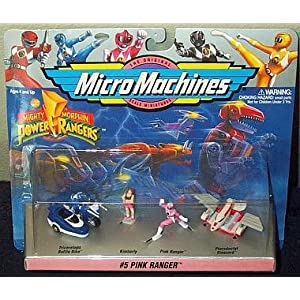 Mighty Morphin Power Rangers Pink Ranger Micro Machines Collection 5