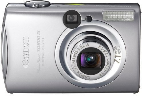 Canon PowerShot SD800 IS is one of the Best Compact Point and Shoot Digital Cameras for Travel Photos Under $750