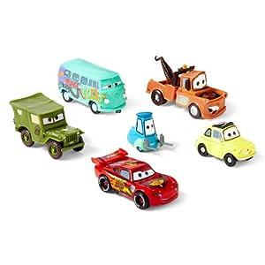 McQueen, Luigi, Guido, Mater, Sarge, Filmore Figur: Toys & Games