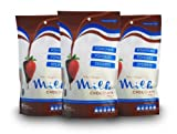 Finest Belgian Milk Chocolate Bags 900g x 3 - Chocolate...