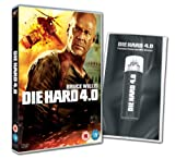 Die Hard 4.0 - Limited Edition With Emergency Phone Charger (Exclusive to Amazon.co.uk) [2007] [DVD]