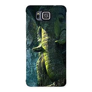 Stylish Rock Ganesha Back Case Cover for Galaxy Alpha