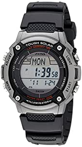 Casio Men's WS200H-1AVCF Tough Solar Powered Multi-Function Digital Sport Watch
