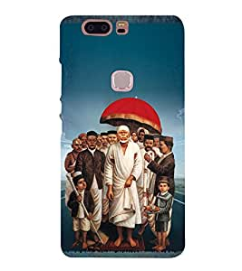 Om Sri Sai Amaraaya Baba 3D Hard Polycarbonate Designer Back Case Cover for Huawei Honor V8