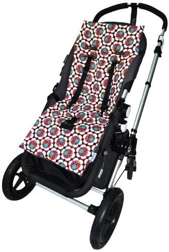 Tivoli Couture Nu Comfort Memory Foam Stroller Pad and Seat Liner, Sunburst
