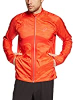 Asics Chaqueta Wind Jacket (Rojo / Naranja)