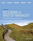 img - for Becoming a Master Manager: A Competing Values Approach book / textbook / text book