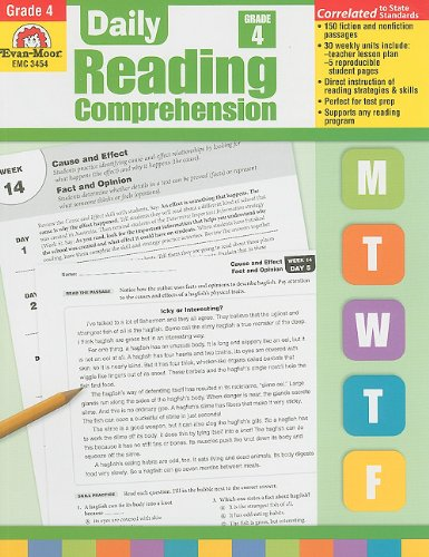 Read Online Daily Reading Comprehension Grade 4 By
