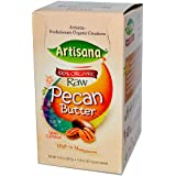 Artisana, 100% Organic Raw Pecan Butter with Cashews, 10 Packs, 1.06 oz (30.05 g) Each