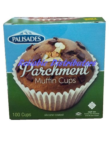 Best Quality Bast Brand White Parchment Large Muffin Cups 100 Pcs Per Pack
