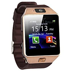 """Galaxy Gear S2 Classic Smartwatch Band, Pandawellâ""""¢ Genuine Leather Loop Strong Adjustable Magnetic Closure Wrist Strap Bracelet Replacement Band for Samsung Galaxy Gear S2 Classic - Brown"""
