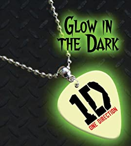 Printed Picks Company One Direction Glow In The Dark Premium Guitar Pick Necklace/Chain by Printed Picks Company
