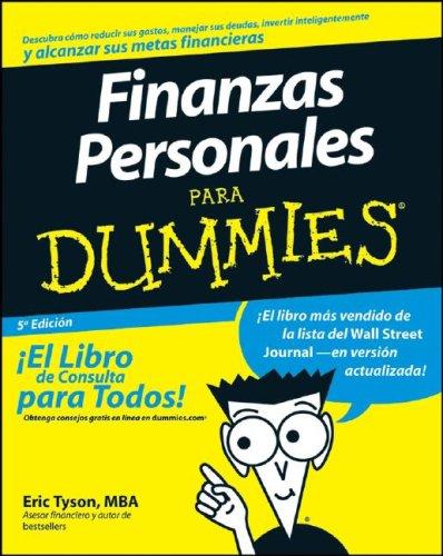 Finanzas personales para dummies de Eric Tyson