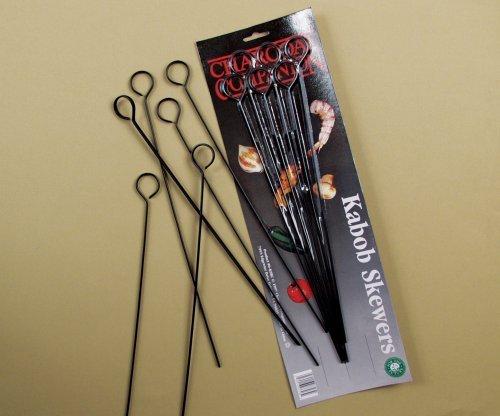 Charcoal Companion 13-Inch Nonstick Grilling Kabob Skewers, Set of 6, Garden, Haus, Garten, Rasen, Wartung jetzt kaufen