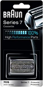 Braun Replacement Foil & Cutter Cassette - 70S, Series 7, Pulsonic - 9000 Series
